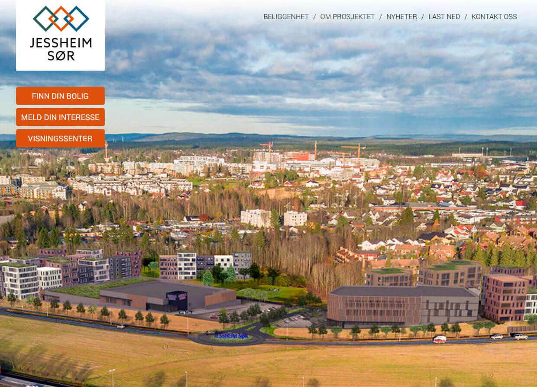 Jessheim Sør webside – Jessheims nye bydel