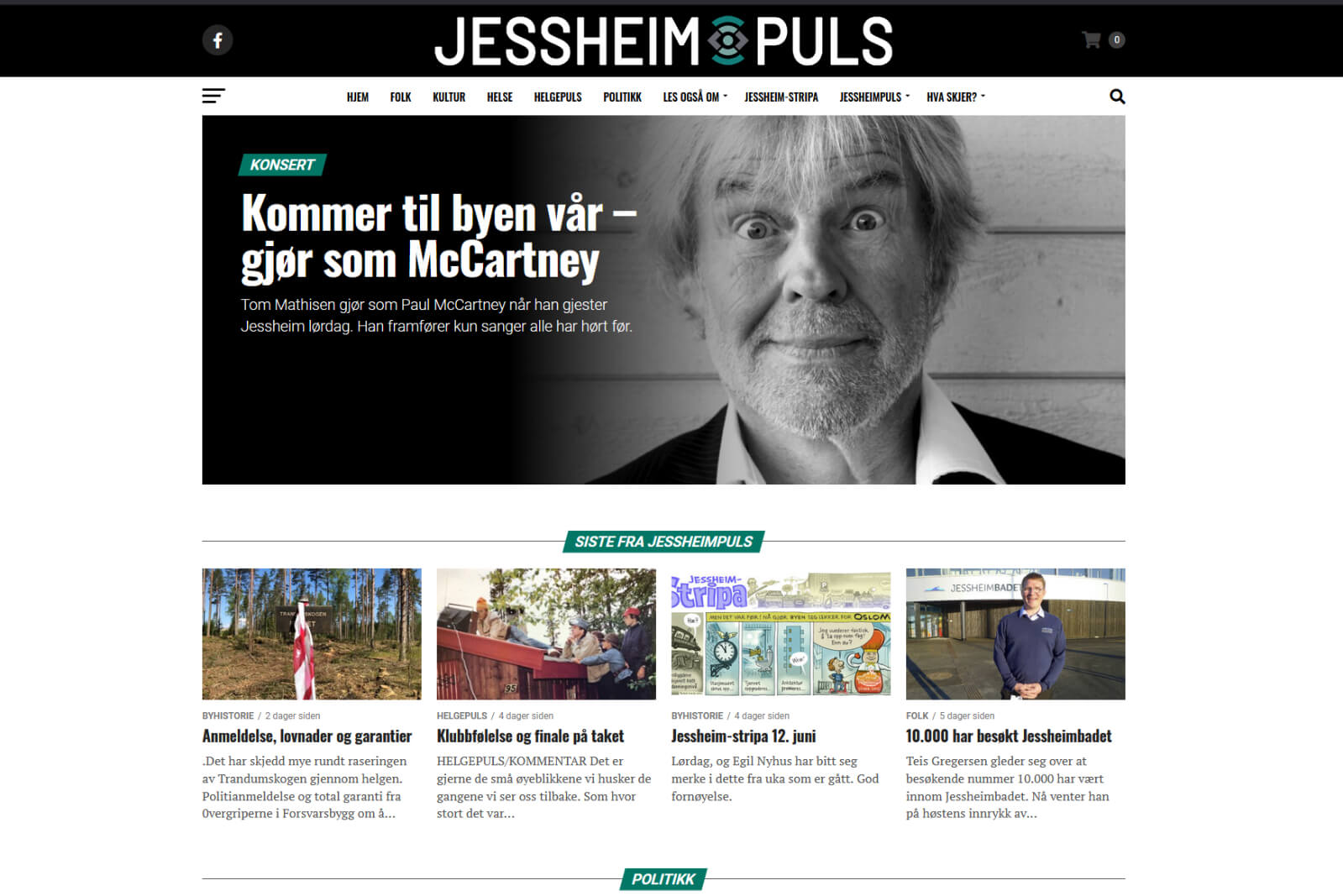 Jessheimpuls webside
