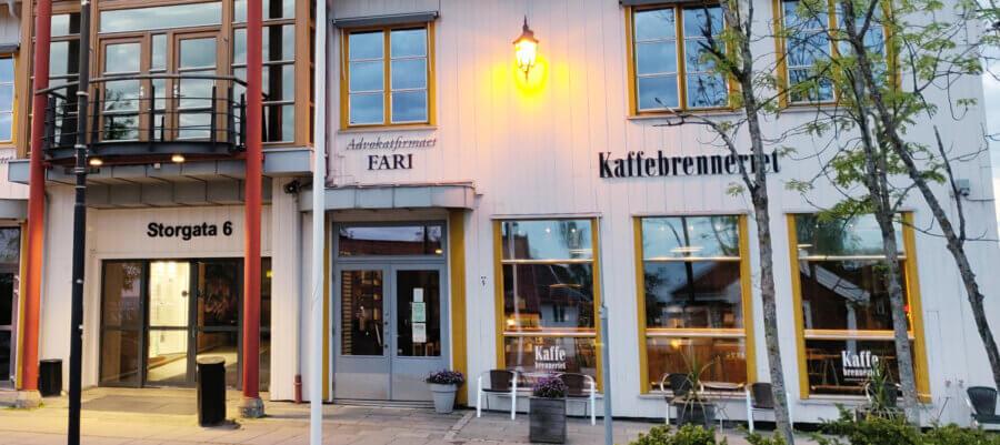 Kaffebrenneriet Jessheim Kveld Juni 2021