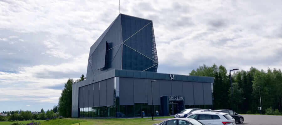 Modern Activity Center bygning Juni 2021