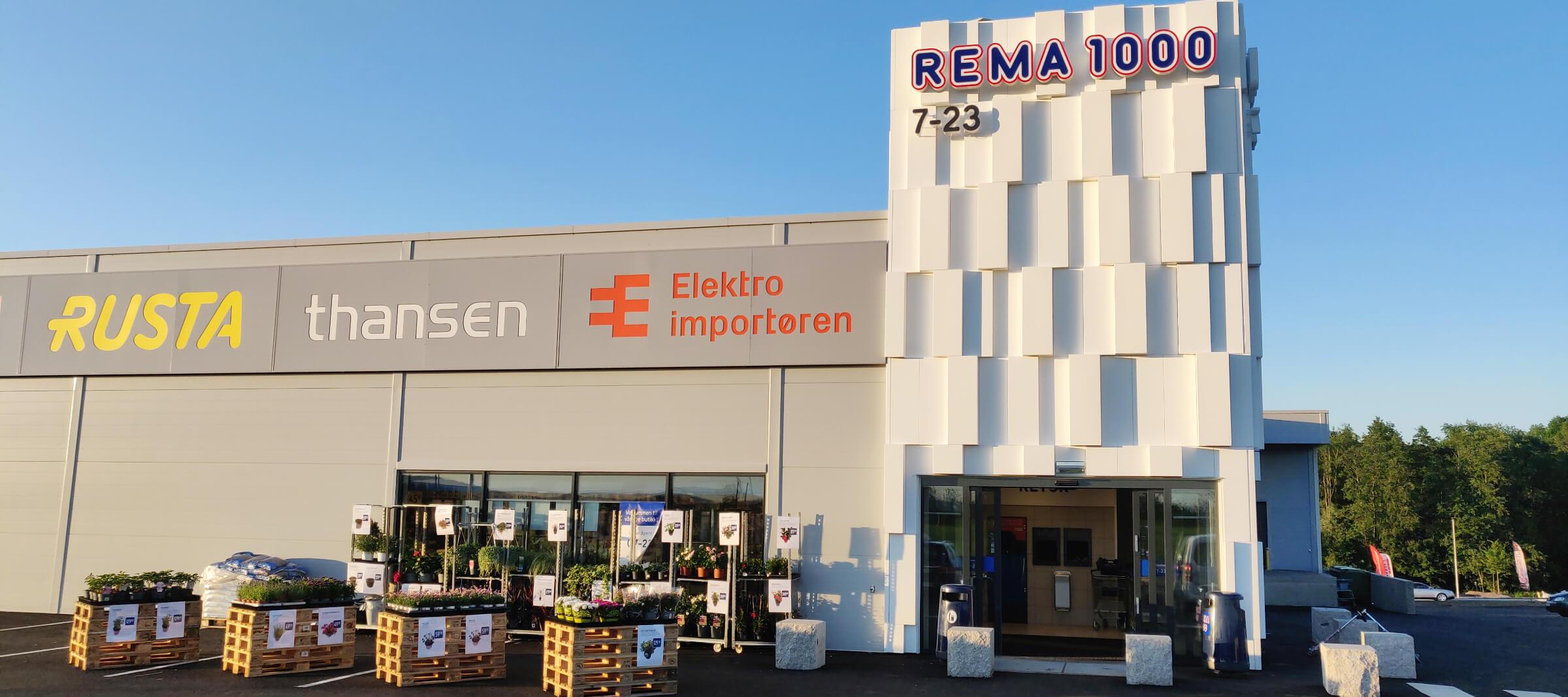 REMA 1000 Byporten Jessheim