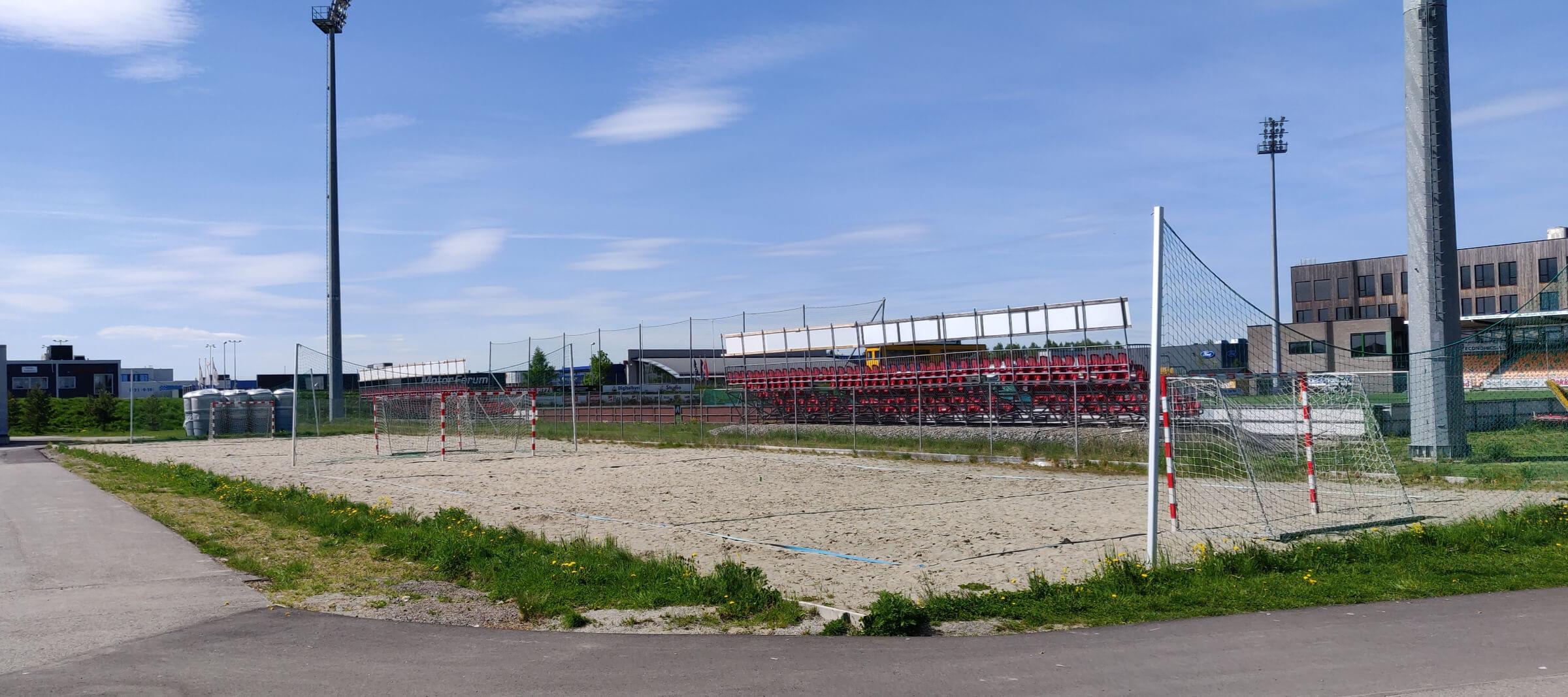 Strandhåndball bane