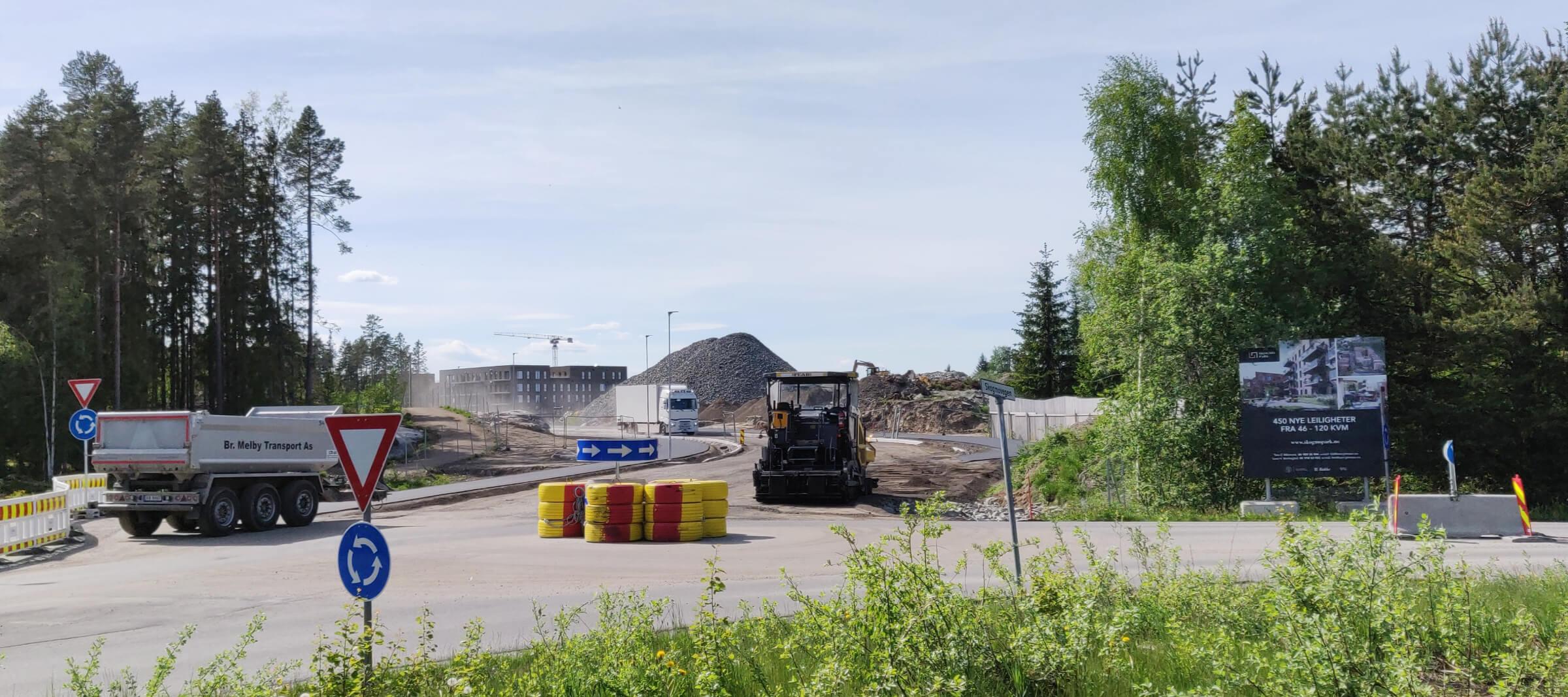 Skogmo Park Jessheim, Juni 2021