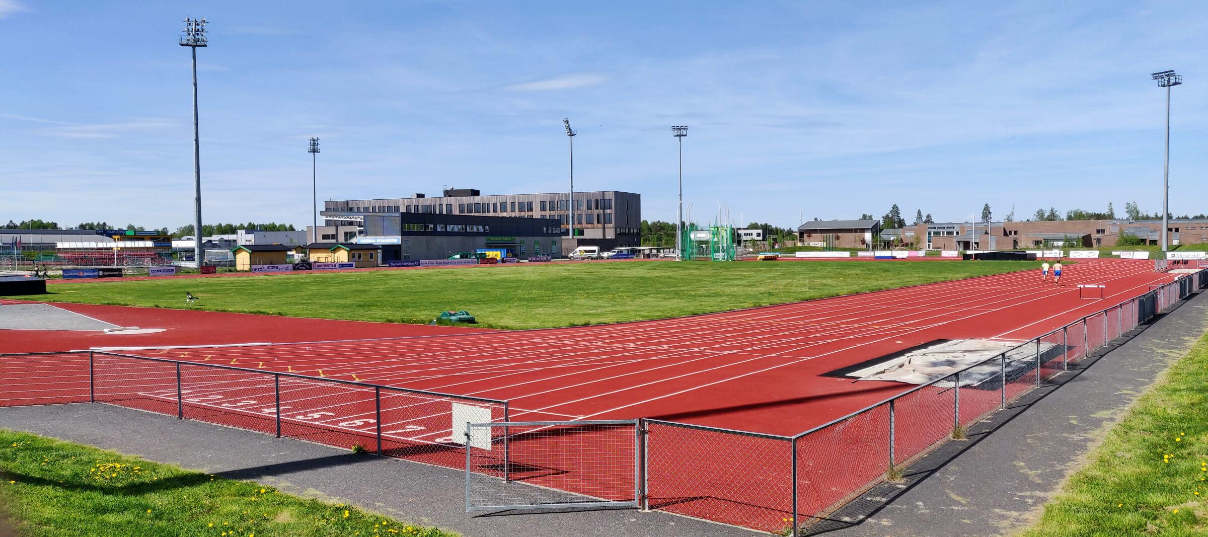 Jessheim Friidrettstadion Juni 2021